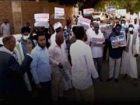 "Sudan'da ""siyonist işgal rejimiyle normalleşme anlaşması"" protesto edildi"