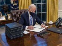 Biden, Trump'ın etkilerini silmek için bir günde 17 kararname imzaladı