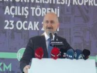 Bakan Karaismailoğlu Adıyaman'da köprülü kavşak açılışına katıldı