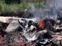 Brezilya'da futbolcuları taşıyan uçak düştü: 4 ölü