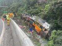 Brezilya'da otobüs kazası: 14 ölü 32 yaralı