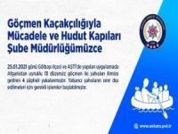 Ankara'da düzensiz göçmenleri kente getiren 4 şüpheli yakalandı