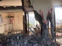 Siyonist işgal rejimi Filistin'de bir camiyi yıktı