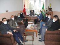 Midyat Kent Konseyinden HÜDA PAR Midyat İlçe Başkanlığına ziyaret