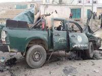 Kabil'deki patlamada bir polis öldü 3 kişi yaralandı