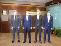 HÜDA PAR İstanbul İl Başkanlığından Esenler Belediye Başkanına nezaket ziyareti