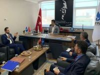 HÜDA PAR Ankara İl Başkan'ından DEVA Partisine ziyaret
