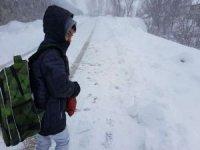 16 ilde yüz yüze eğitime kar engeli