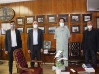 Elibüyük'ten Şişli Etfal Hastanesi Başhekimine nezaket ziyareti