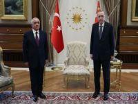 Cumhurbaşkanı Erdoğan Azerbaycan Başbakanı Asadov'u kabul etti