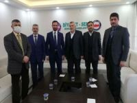 HÜDA PAR Ankara İl Başkanı'ndan Diyanet-Sen'e ziyaret