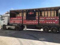 Mardin'de 16 bin 440 şişe kaçak içki ele geçirildi