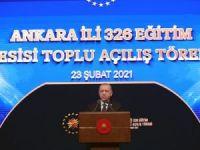 """Cumhurbaşkanı Erdoğan: """"20 bin öğretmen ataması yapacağız"""""""