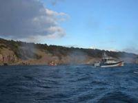 Güneş Adası'nda mahsur kalan 33 kişi kurtarıldı