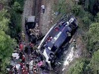 Bolivya'da otobüs kazası: 21 ölü