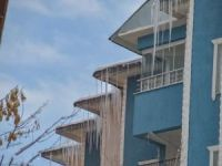 Ardahan'ın Göle ilçesinde termometreler eksi 24'ü gösterdi
