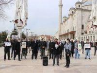 Peygamber Sevdalıları Kudüs için İstanbul'da basın açıklaması düzenledi