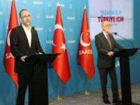 HÜDA PAR Genel Başkanı Sağlam'dan Saadet Partisi Genel Başkanı Karamollaoğlu'na ziyaret