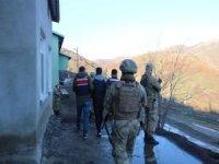 Van merkezli 3 ilde PKK operasyonu