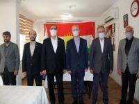 "HÜDA PAR'dan PAK'a ""Yeni Anayasa"" ziyareti"