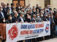 """Mardin'de 103 sivil toplum kuruluşundan 103 emekli amiralin """"darbe"""" imalı bildirisine tepki"""