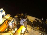 64 düzensiz göçmen kurtarıldı