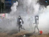 Myanmar'da ordu darbe karşıtı göstericilere ateş açması sonucu 80 sivil öldü
