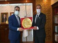Cezayir Ankara Büyükelçisi'nden MAÜ'ye ziyaret