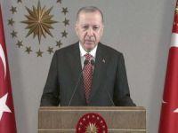 """Cumhurbaşkanı Erdoğan: """"20 milyon doz aşıyı vatandaşlarımıza uyguladık"""""""