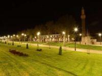 Tarihi Kurşunlu Camii peyzaj ve ışıklandırma çalışmalarıyla yeni çehresine kavuştu