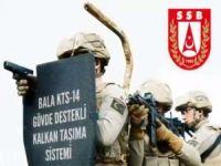SSB: Balistik kalkan BALA KTS-14 Jandarmaya teslim edildi