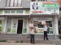 """Bingöl Umut Kervanı """"Ramazan Umut Olsun"""" kampanyası ile muhtaçlara umut oluyor"""