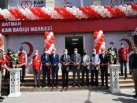 Batman Kızılay Kan Bağışı Merkezi hizmete açıldı