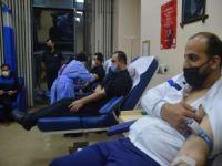 """Siirt'te """"Bir ünite kan bir porsiyon büryan"""" kampanyasına yoğun ilgi"""