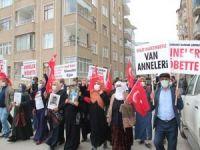 Annelerin Van'da başlattığı eylem devam ediyor