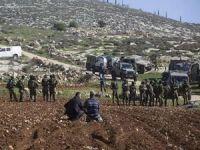 Siyonist işgalci rejim Filistinlilere ait 147 dönüm araziye el koydu