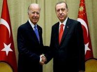 Cumhurbaşkanı Erdoğan Telegram'dan ABD Başkanı Biden ile görüşmesini paylaştı