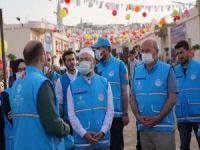 Diyanet İşleri Başkanı Erbaş İdlib'de TDV'nin faaliyetlerini inceledi