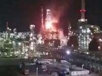 Hayfa limanındaki petrol rafinerisinde patlama