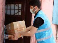 İhtiyaç sahibi 10 bin aileye gıda paketi dağıtımına başlandı