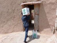 Umut Kervanının Mardin merkez ve ilçelerde Ramazan yardımları sürüyor