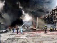 İran'da kimya fabrikasında yangın çıktı
