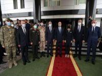 Akar ve Çavuşoğlu, Libya'da görüşmeler gerçekleştirdi