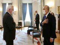 Bakan Çavuşoğlu Almanya Cumhurbaşkanı Steinmeier'la görüştü