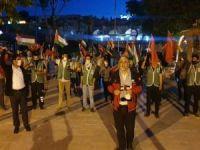 Şanlıurfa'da siyonist işgal rejiminin Mescid-i Aksa baskını lanetlendi