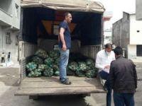Diyarbakır'da 292 bin haneye patates ve soğan dağıtıldı