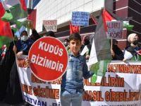 Siyonist işgal rejimine Bitlis'ten sert tepki