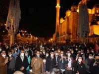 Siyonist işgal rejiminin saldırıları İstanbul'da tel'in edildi