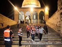 Mescid-i Aksa'ya yönelik saldırılarda 714 Filistinli yaralandı