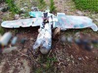 PKK'nın saldırı amaçlı gönderdiği maket uçak düşürüldü
